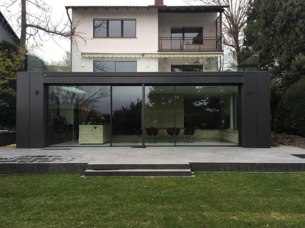 anbau glashaus in bergen enkheim metall und glas. Black Bedroom Furniture Sets. Home Design Ideas