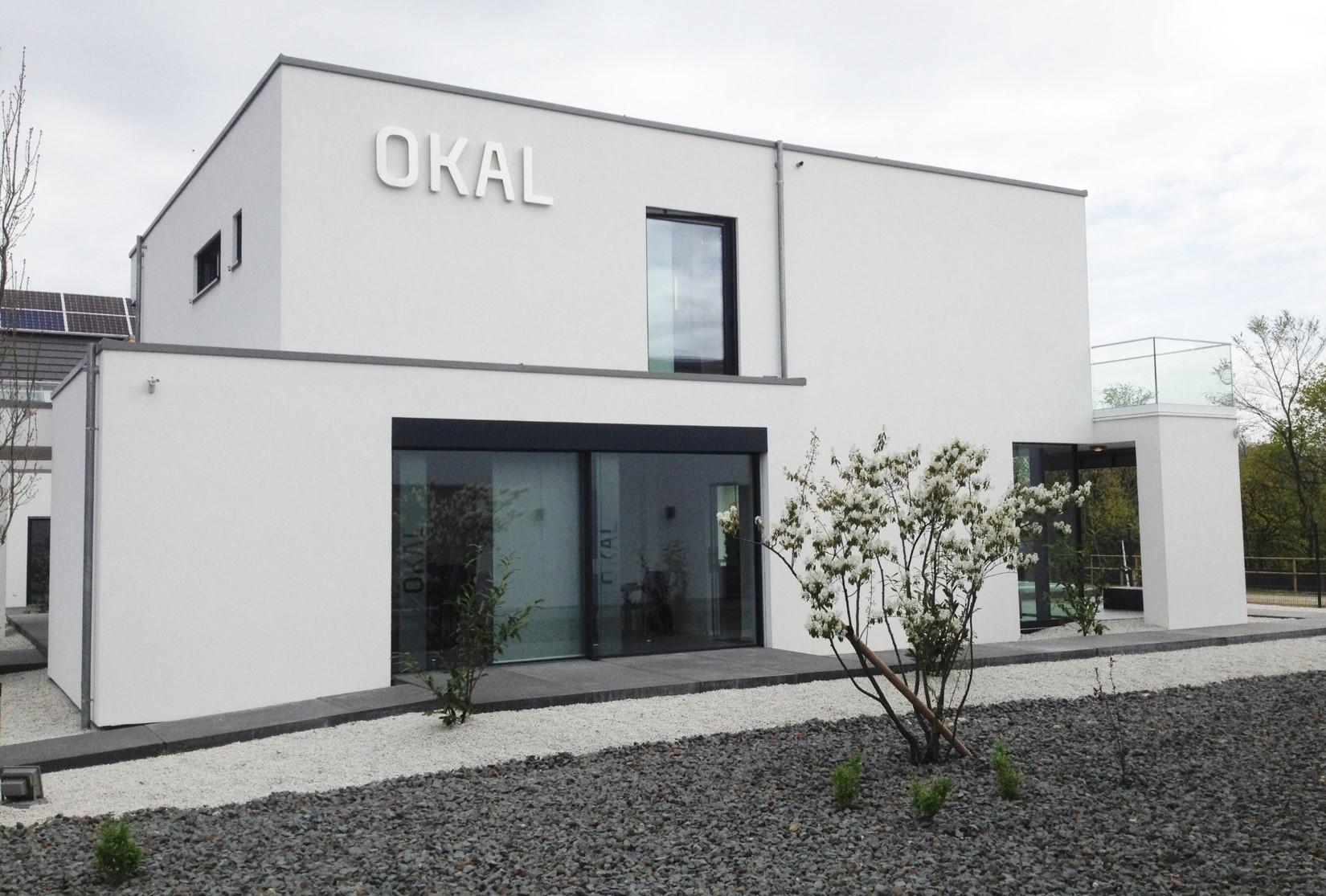 villa im bauhausstil f r okal metall und glas. Black Bedroom Furniture Sets. Home Design Ideas
