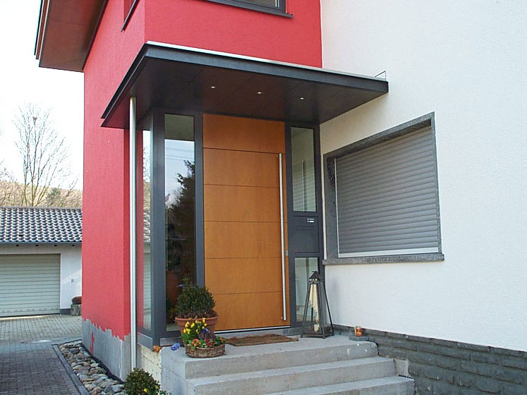 Eingangsturen Portale Metall Und Glas