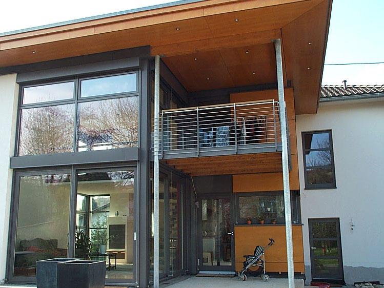 stahlterrassen balkone metall und glas. Black Bedroom Furniture Sets. Home Design Ideas